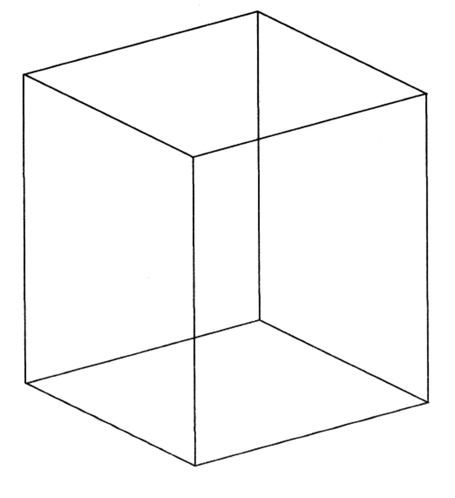 Free Coloring Pages Of Cube Geometry